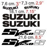 Aufkleber: SV 650 2003 2