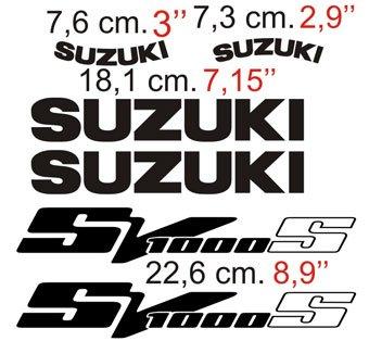 Aufkleber: SV 1000 2003