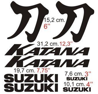 Aufkleber: Katana 2001 custom