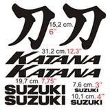 Aufkleber: Katana 2001 custom 2