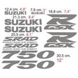 Aufkleber: GSXR 750 1997 2