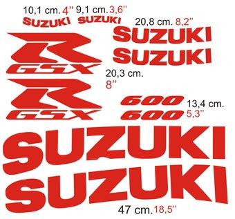 Aufkleber: GSXR 600 2003