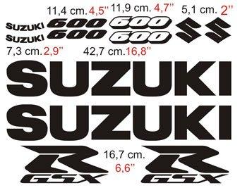 Aufkleber: GSXR 600 2005