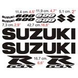 Aufkleber: GSXR 600 2005 2