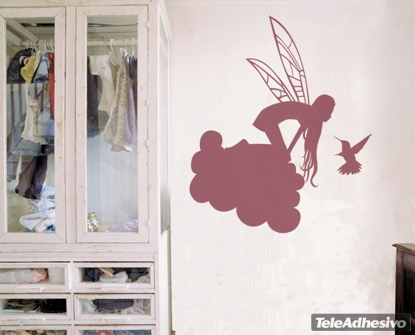 Wandtattoos: Cloud Fairy