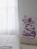 Wandtattoos: Couchtisch Bücher 2