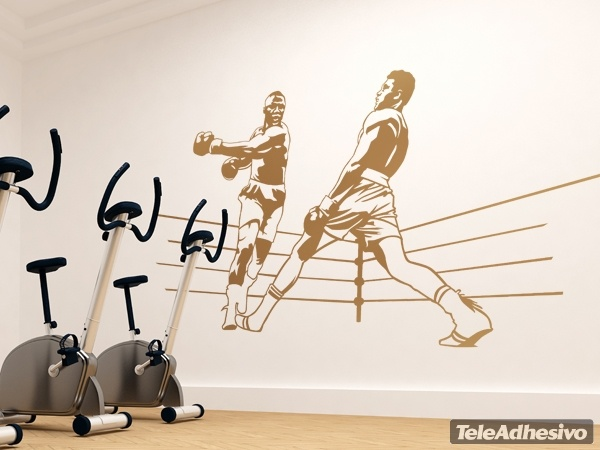 Wandtattoos: Boxing Ali