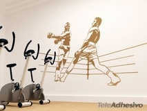 Wandtattoos: Boxing Ali 2