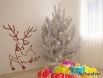 Wandtattoos: Rudolph 1