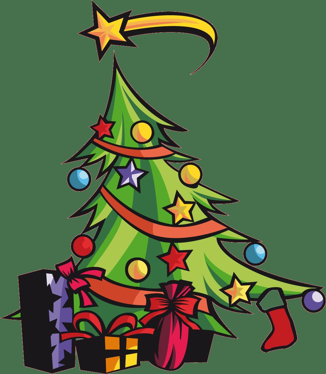 Wandtattoos: Christmas tree