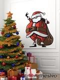 Wandtattoos: Santa Klaus 1