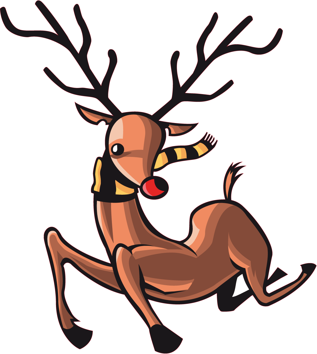 Wandtattoos: Rudolph color