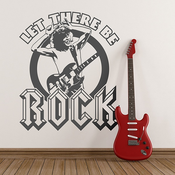Wandtattoos: ACDC Let There Be Rock