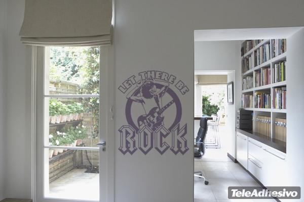 Wandtattoos: Evil rock
