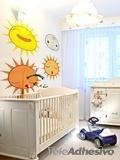 Kinderzimmer Wandtattoo: Sonne1 1