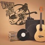 Wandtattoos: Guitar hero 0