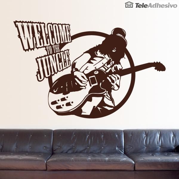 Wandtattoos: Guitar hero