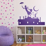 Kinderzimmer Wandtattoo: Poppins 0