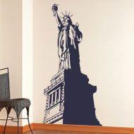 Wandtattoos: die Freiheitsstatue 2