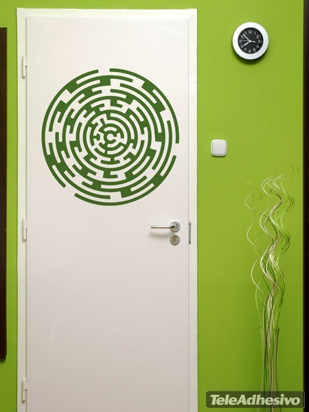 Wandtattoos: Labyrinth 2
