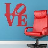 Wandtattoos: love design 2 0