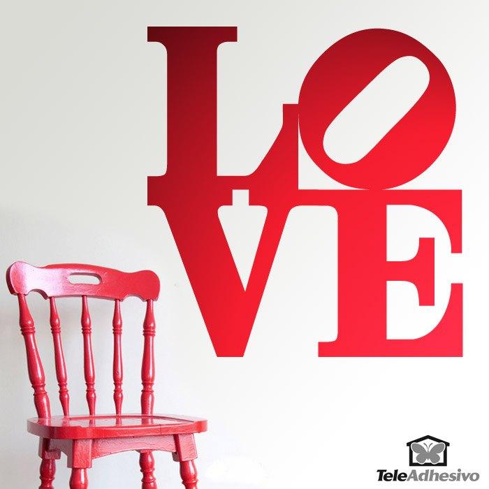 Wandtattoos: love design 2