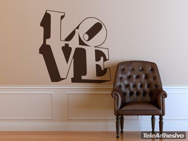 Wandtattoos: love design 3