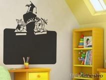Kinderzimmer Wandtattoo: Schiefer School 1