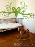 Kinderzimmer Wandtattoo: Eichhörnchen 2