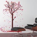 Wandtattoos: Blätter der Bäume 0