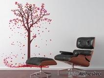 Wandtattoos: Blätter der Bäume 1