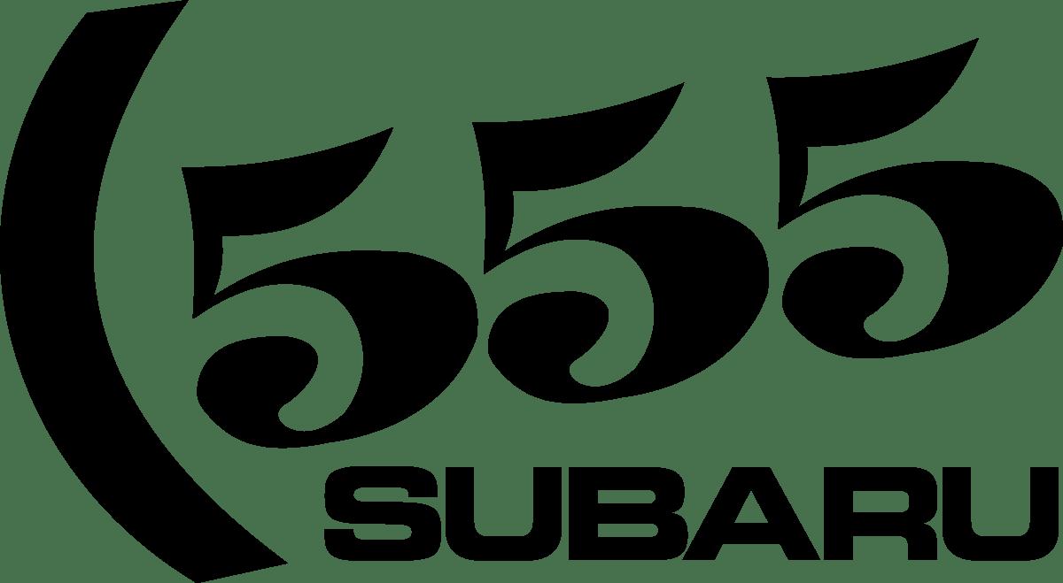Aufkleber: Subaru 555