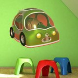 Kinderzimmer Wandtattoo: Green Car 4