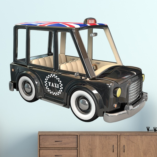 Kinderzimmer Wandtattoo: London Taxi
