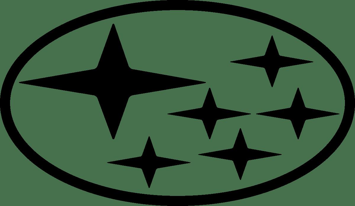 Aufkleber: Logo Subaru