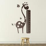 Kinderzimmer Wandtattoo: Giraffe Meter 0