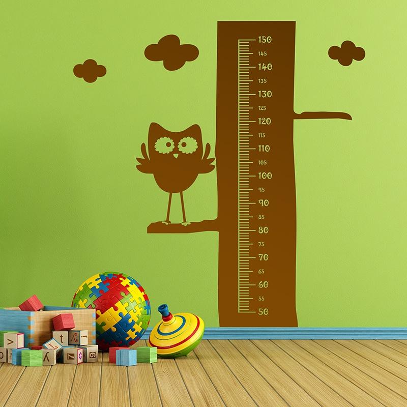 Kinderzimmer Wandtattoo: Owl Meter