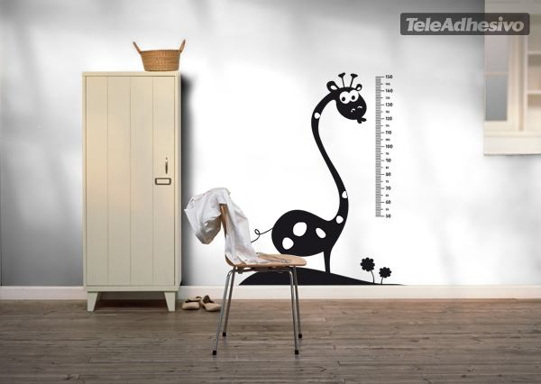 Kinderzimmer Wandtattoo: Giraffe 2 Meter