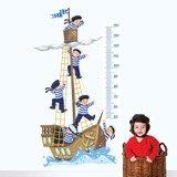 Kinderzimmer Wandtattoo: Boot und Auszubildende 1