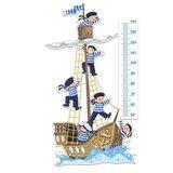 Kinderzimmer Wandtattoo: Boot und Auszubildende 4