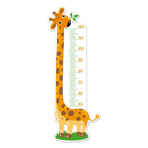 Kinderzimmer Wandtattoo: Meter-Giraffe 3