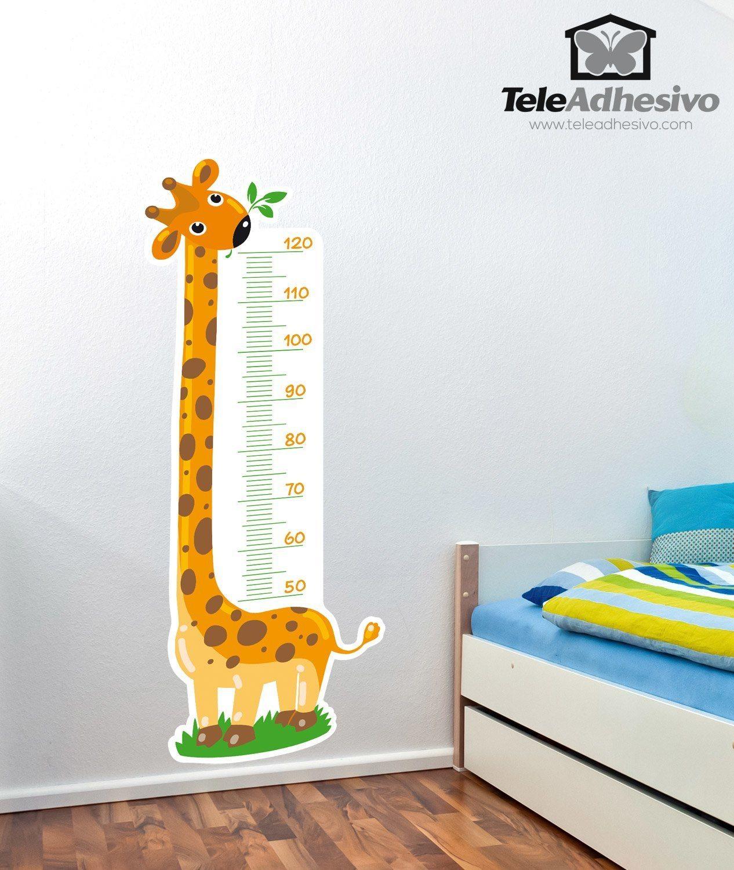 Kinderzimmer Wandtattoo Meter-Giraffe 3