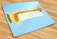 Kinderzimmer Wandtattoo: Meter-Giraffe 3 5