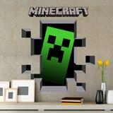 Wandtattoos: Minecraft 3D 1 8