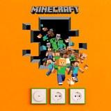 Wandtattoos: Minecraft 3D 2 6