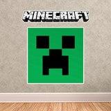 Wandtattoos: Minecraft logo 0