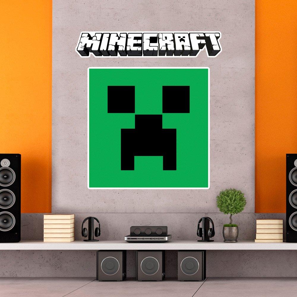 Wandtattoos: Minecraft logo