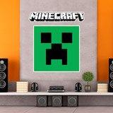 Wandtattoos: Minecraft logo 3