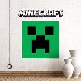 Wandtattoos: Minecraft logo 4