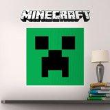 Wandtattoos: Minecraft logo 5